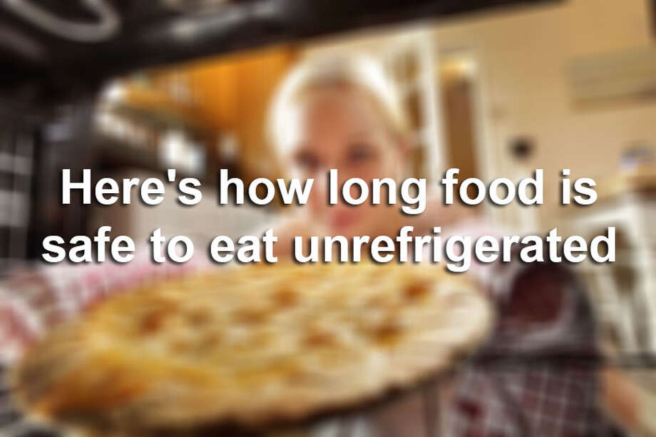 Click ahead to view how long food is safe to eat when unrefrigerated. Photo: FILE