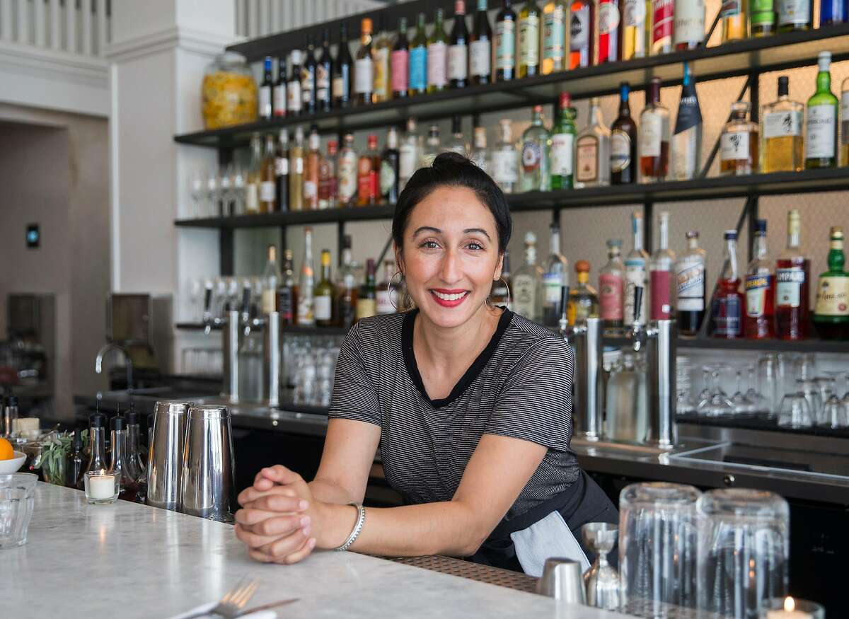 Bar manager Nahiel Nazzal poses for a portrait at Pearl in the Richmond district of San Francisco, Calif. Tuesday, Sept. 4, 2018.