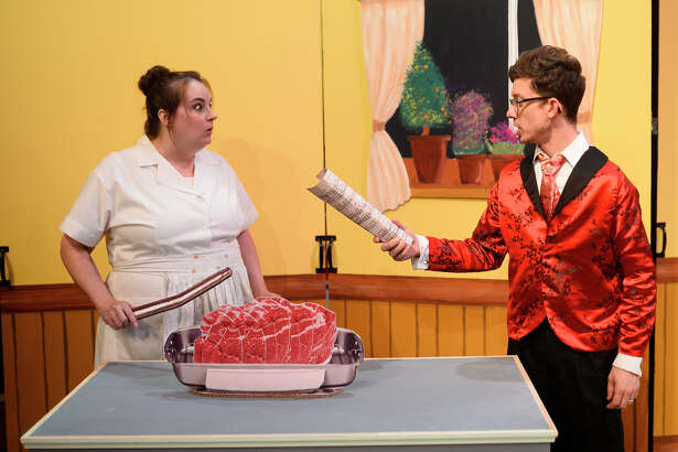 """Scenes from """"Clue"""" photographed Aug. 30, 2018, at Midland Community Theater. James Durbin/Reporter-Telegram"""