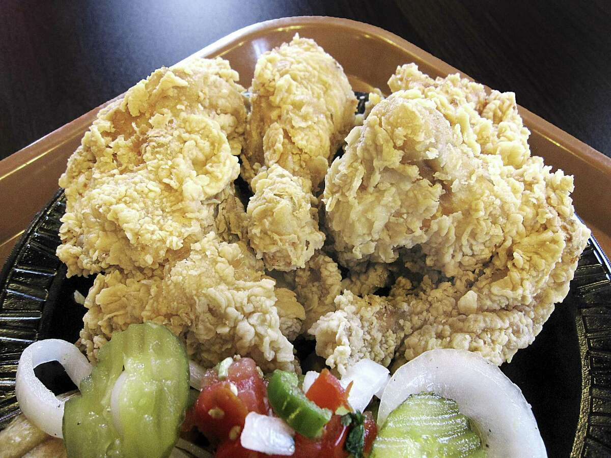 The photo above is a four-piece fried chicken dinner from Bill Miller Bar-B-Q.