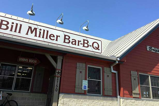 Bill Miller Bar-B-Q on Bill Miller Lane in San Antonio. A reader compares the recent scrutiny surrounding the Bar-B-Q chain to that of Chick-Fil-A.