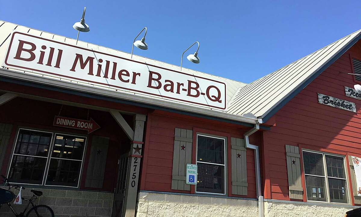 Starting today, dine-in and walk-up services at Bill Miller Bar-B-Q have temporarily been suspended due to the coronavirus.