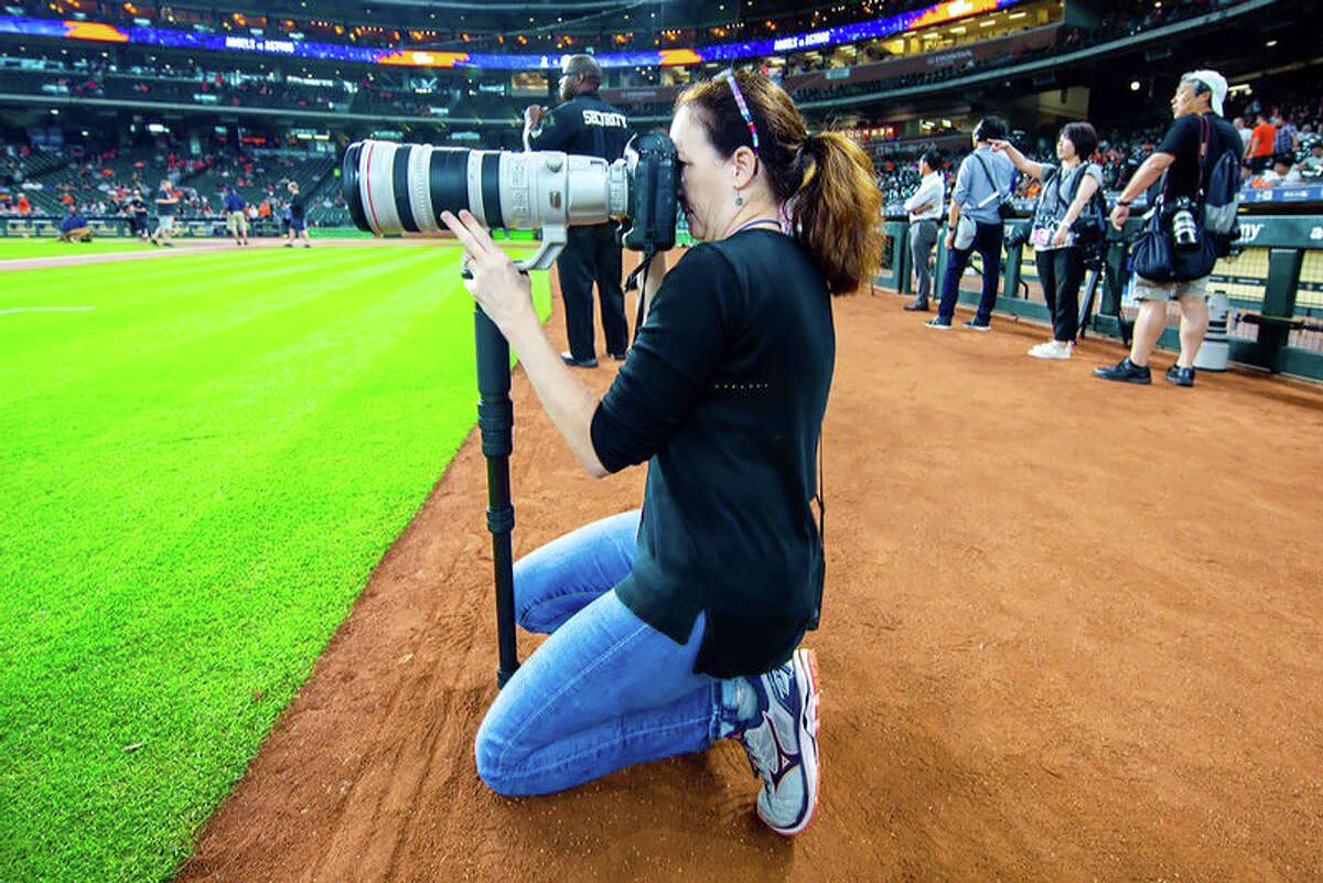PHOTOS: Karen Warren's best photos from 2017, including the Astros' World Series run Houston Chronicle staff photographer Karen Warren will be inducted into the Houston Baseball Media Wall of Honor. She will be the first photojournalist to receive this honor since the award's inception in 2007. Browse through the photos above for a look at the best photos from Karen Warren in 2017.
