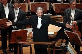 Michael Tilson Thomas at San Francisco Symphony opening night gala in 2018