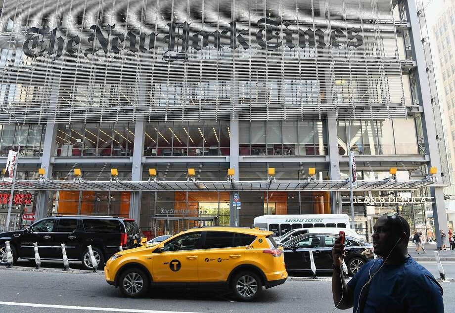 The New York Times published an incendiary opinion piece by an anonymous senior official in the Trump administration. Photo: Angela Weiss / AFP / Getty Images