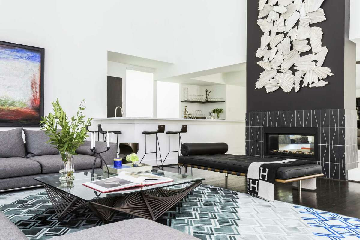 boxy mid century home transformed to high end modern expressnews com