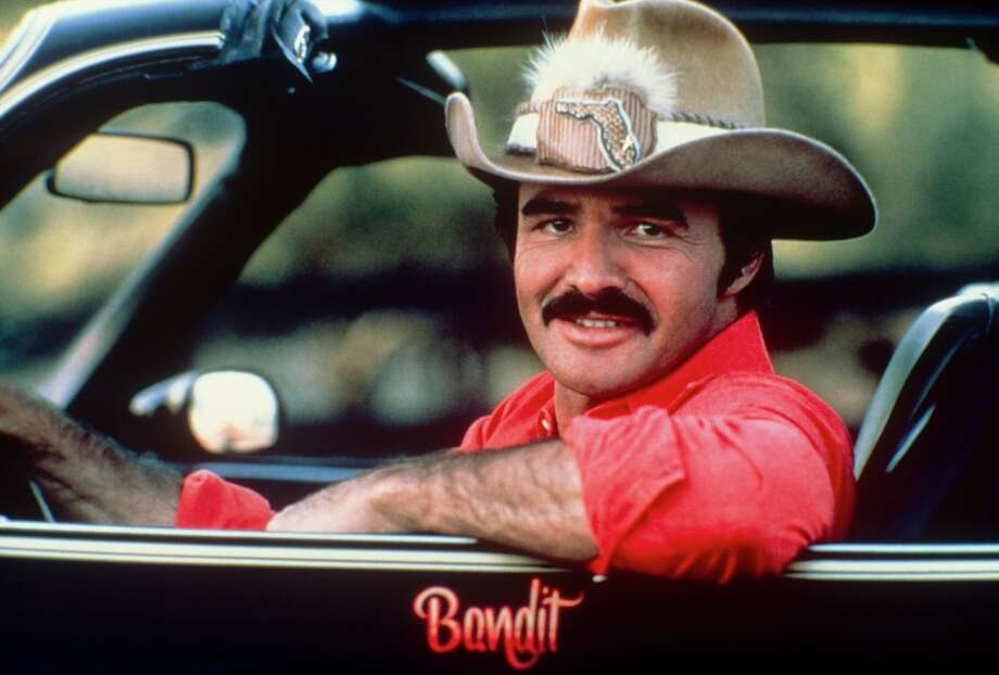 "Burt Reynolds in the car from ""Smoky and the Bandit,"" 1970. Photo: Art Zelin/Getty Images / 2014 Art Zelin"