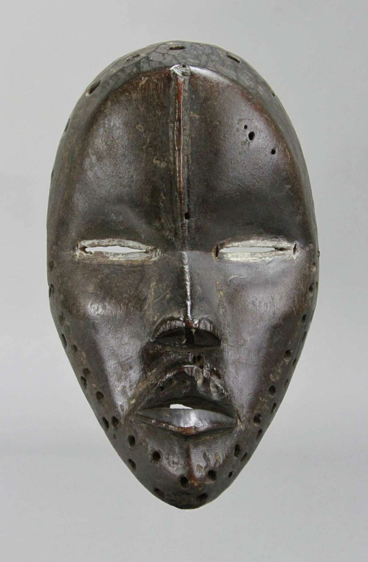 This Deangle mask of the Dan, or Gio, people of Liberia will be among the pieces on display in
