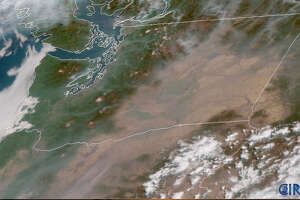 Smoke once more filled the air on Thursday in Seattle, coming from local fires mostly. Eastern Washington remained under heavy smoke in places as large fires burned there.
