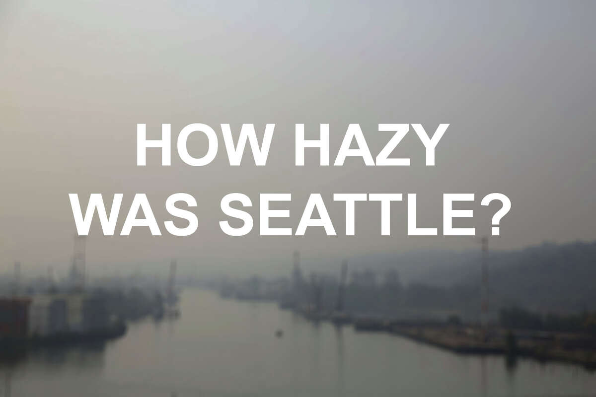 Remember the haze that choked Seattle in late August? If you've blocked that out of your memory, click through this slideshow to see how bad it got.