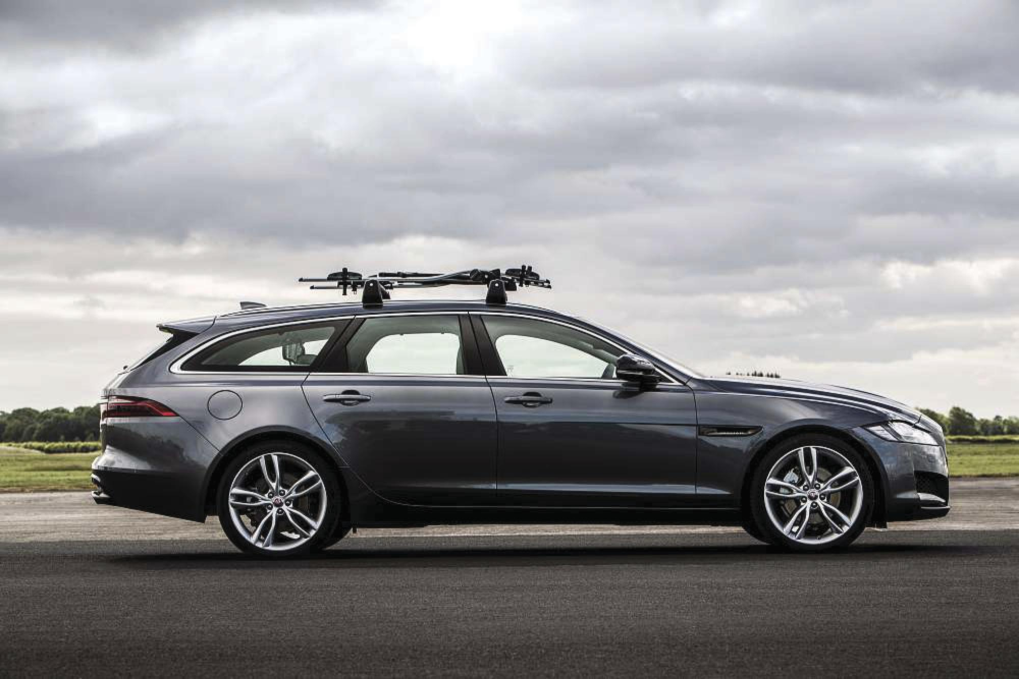Jaguar brings its cool XF Sportbrake station wagon to U.S.