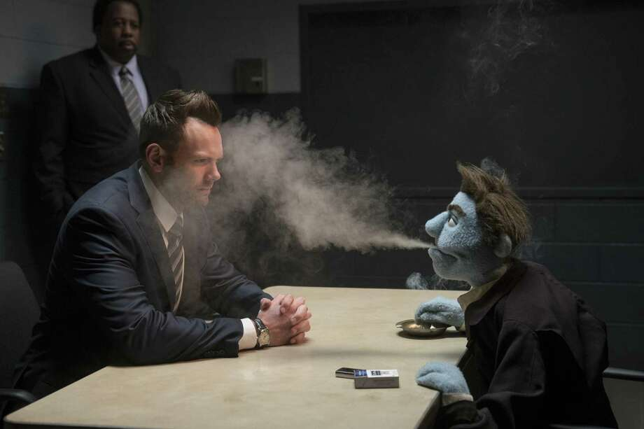 "This image released by STX Entertainment shows Joel McHale in a scene from ""The Happytime Murders."" Photo: Hopper Stone / Associated Press / Motion Picture Artwork © 2017 STX Financing, LLC. All Rights Reserved."