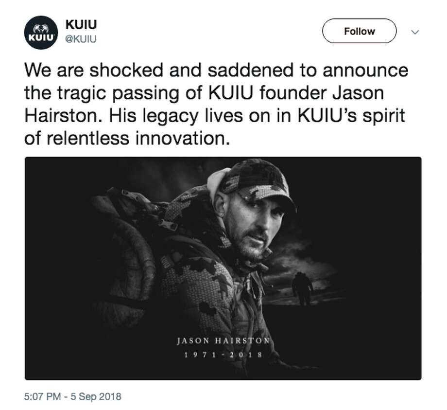 Jason Hairston, a college football star and hunting apparel CEO, died at age 47 this week. The cause of death was not immediately known. Photo: Instagram Screen Grab
