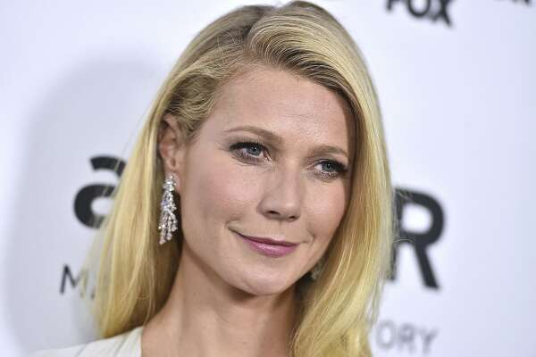 FILE - In this Oct. 29, 2015, file photo, Gwyneth Paltrow arrives at a gala in Los Angeles. In an announcement made Tuesday, Sept. 4, 2018, Paltrow�s lifestyle company Goop has agreed to pay $145,000 in civil penalties over products including egg-shaped stones that are meant to be inserted into the vagina to improve health. (Photo by Jordan Strauss/Invision/AP, File)