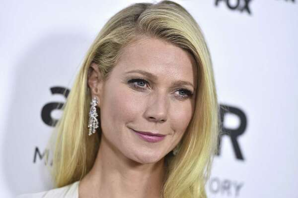 In this Oct. 29, 2015, file photo, Gwyneth Paltrow arrives at a gala in Los Angeles. In an announcement made Tuesday, Sept. 4, 2018, Paltrows lifestyle company Goop has agreed to pay $145,000 in civil penalties over products including egg-shaped stones that are meant to be inserted into the vagina to improve health.