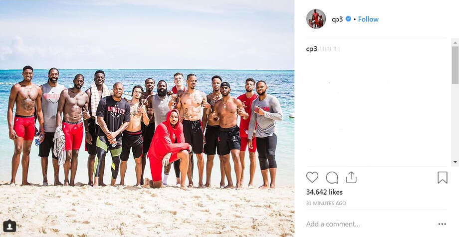 PHOTOS: A couple shots from the Rockets' trip to The Bahamas