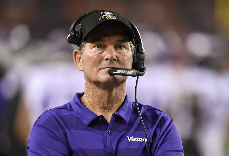 10. Mike Zimmer, Minnesota Vikings Photo: Mark Reis, Associated Press