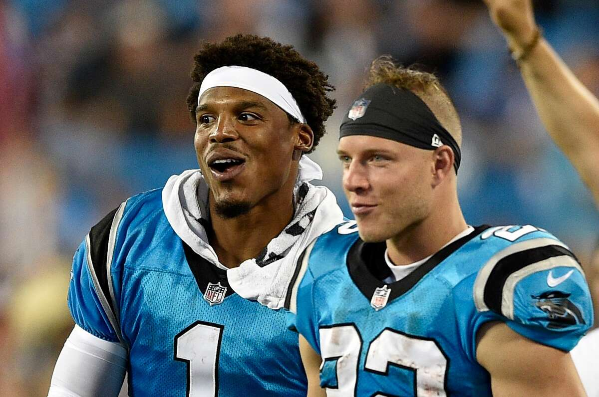 14. CAROLINA PANTHERS Quarterback: Cam Newton (T-13th) Running back: Christian McCaffrey (4th) Pass catcher: D.J. Moore (25th)