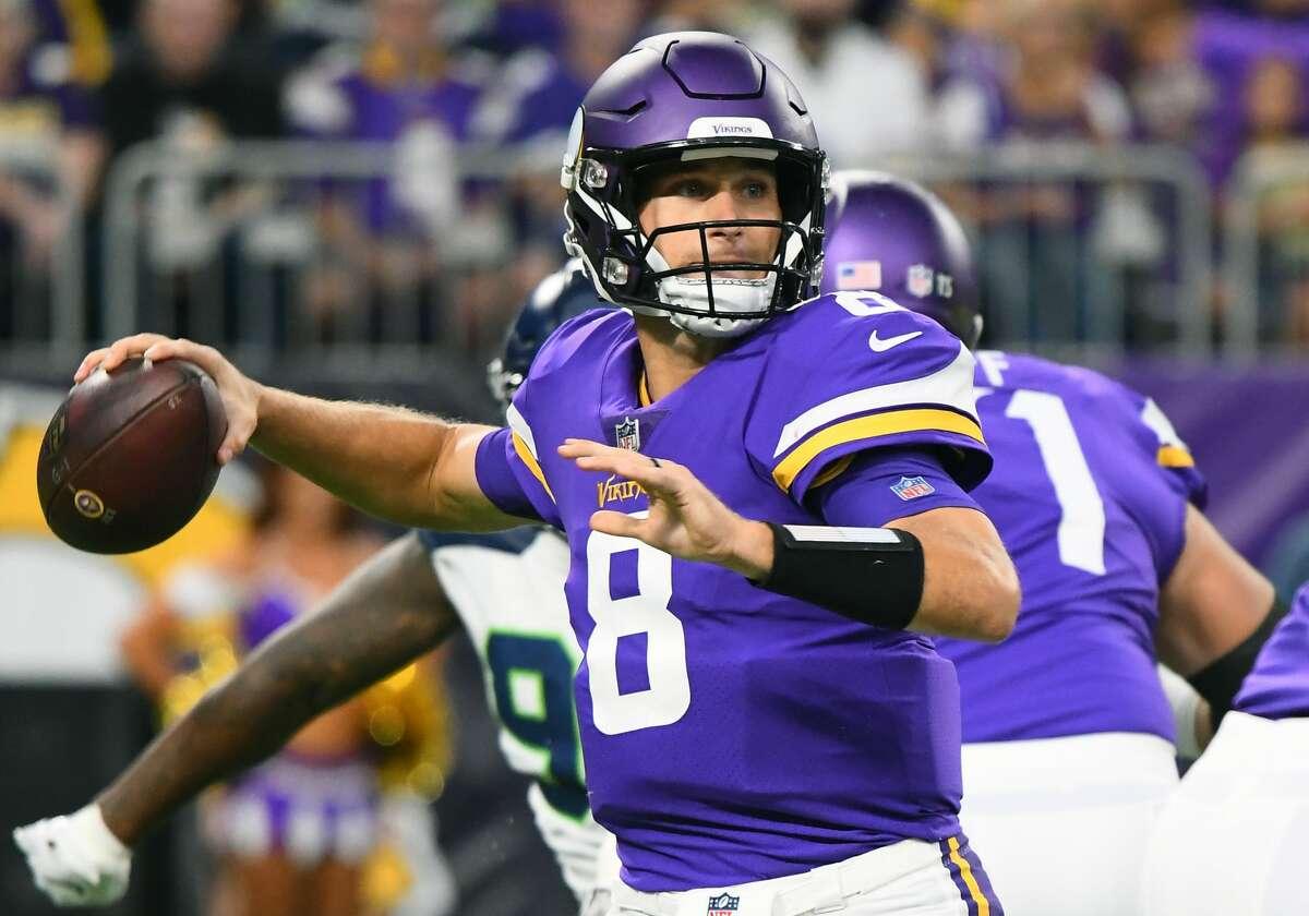 San Francisco plus-6 ½ at Minnesota Vikings 24-20