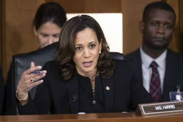Kamala Harris Viral Grilling Of Kavanaugh Ends With A Thud Sfchronicle Com