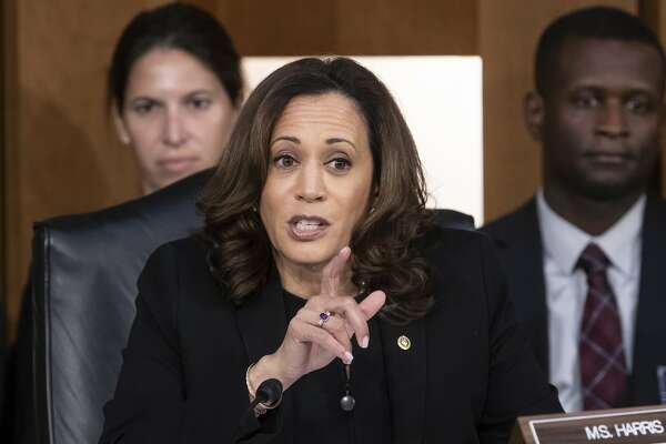 Kamala Harris Had Kavanaugh Cornered Then She Gave Him A Way Out Sfchronicle Com