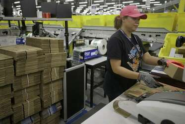 Amazon showcases new fulfillment center in Houston - Houston