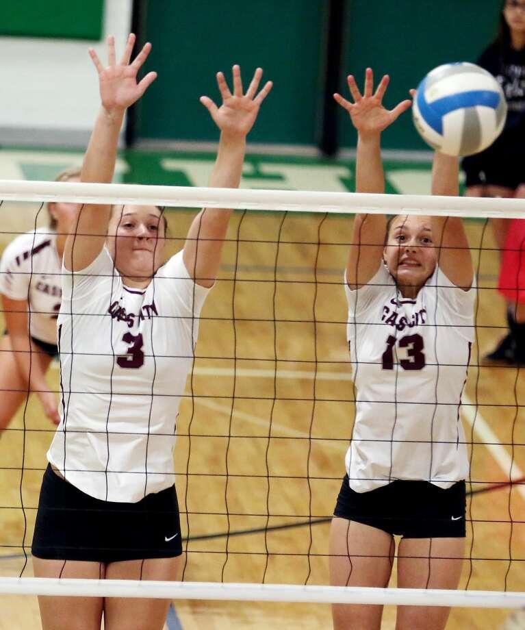 Cass City at EPBP — Volleyball Photo: Paul P. Adams/Huron Daily Tribune