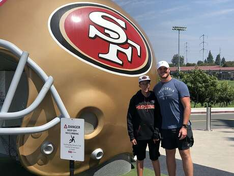 Mike McGlinchey and his cousin, Dan McCain. Photo: The McGlinchey Family