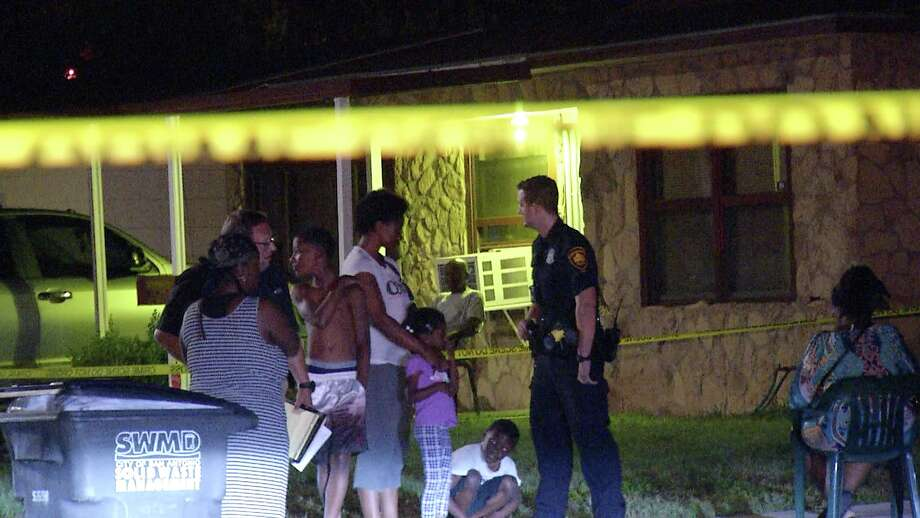 A neighbor heard the gunshots ring out at about 10:15 p.m. in the 100 block of Dafoste Avenue. Police came to investigate the shooting and discovered the victim had suffered a gunshot wound to the head. Photo: Ken Branca