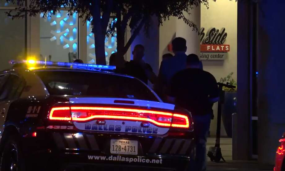 Dallas police say an off-duty officer fatally shot a man after mistakenly entering his apartment instead of her own. Photo: Metro Video