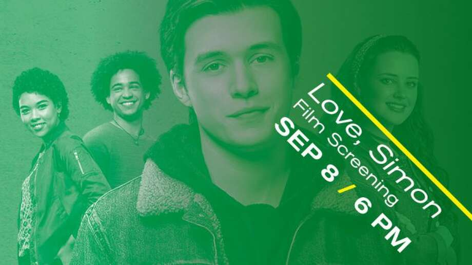 "Sept. 8: ""Love, Simon"" will be screened at 6 p.m. at the Bullock Creek High School auditorium. Everyone deserves a great love story, but for Simon it's complicated: no one knows he's gay and he doesn't know who the anonymous classmate is that he's fallen for online. Free admission. Part of the Perspective series, a partnership between the Midland Center for the Arts, Perceptions, GLAD, Family and Children's Services of Mid-Michigan and the Midland High School GSA. Photo: Www.mcfta.org"
