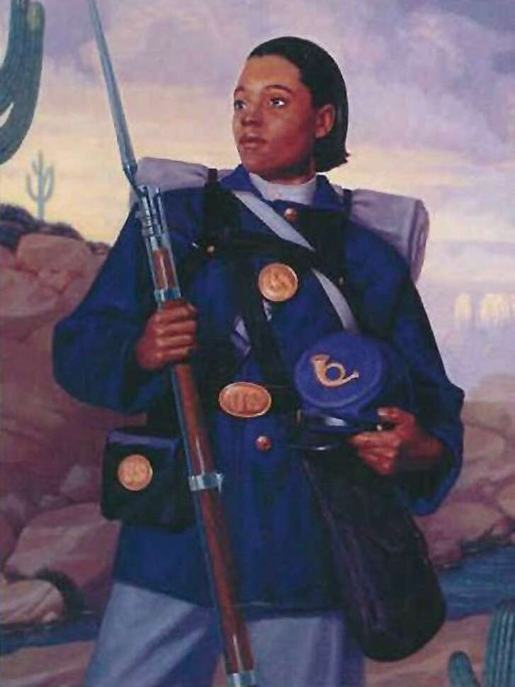 """Buffalo Soldier Cathy Williams is the subject of Sarah Bird's fictional book, """"Daughter of a Daughter of a Queen."""""""