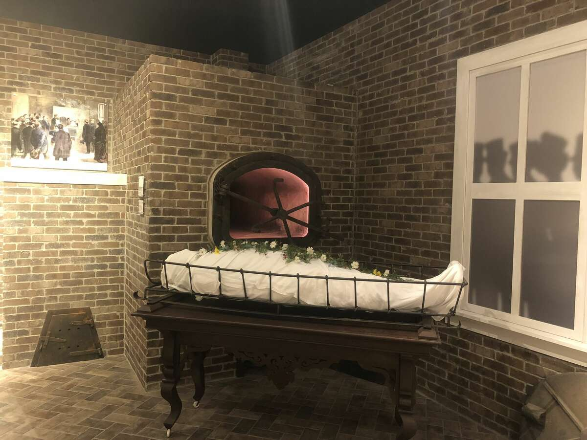 The new cremation exhibit joins over a dozen other permanent exhibits at the quirky attraction, including exhibits on historical hearses, caskets, and presidential funerals.