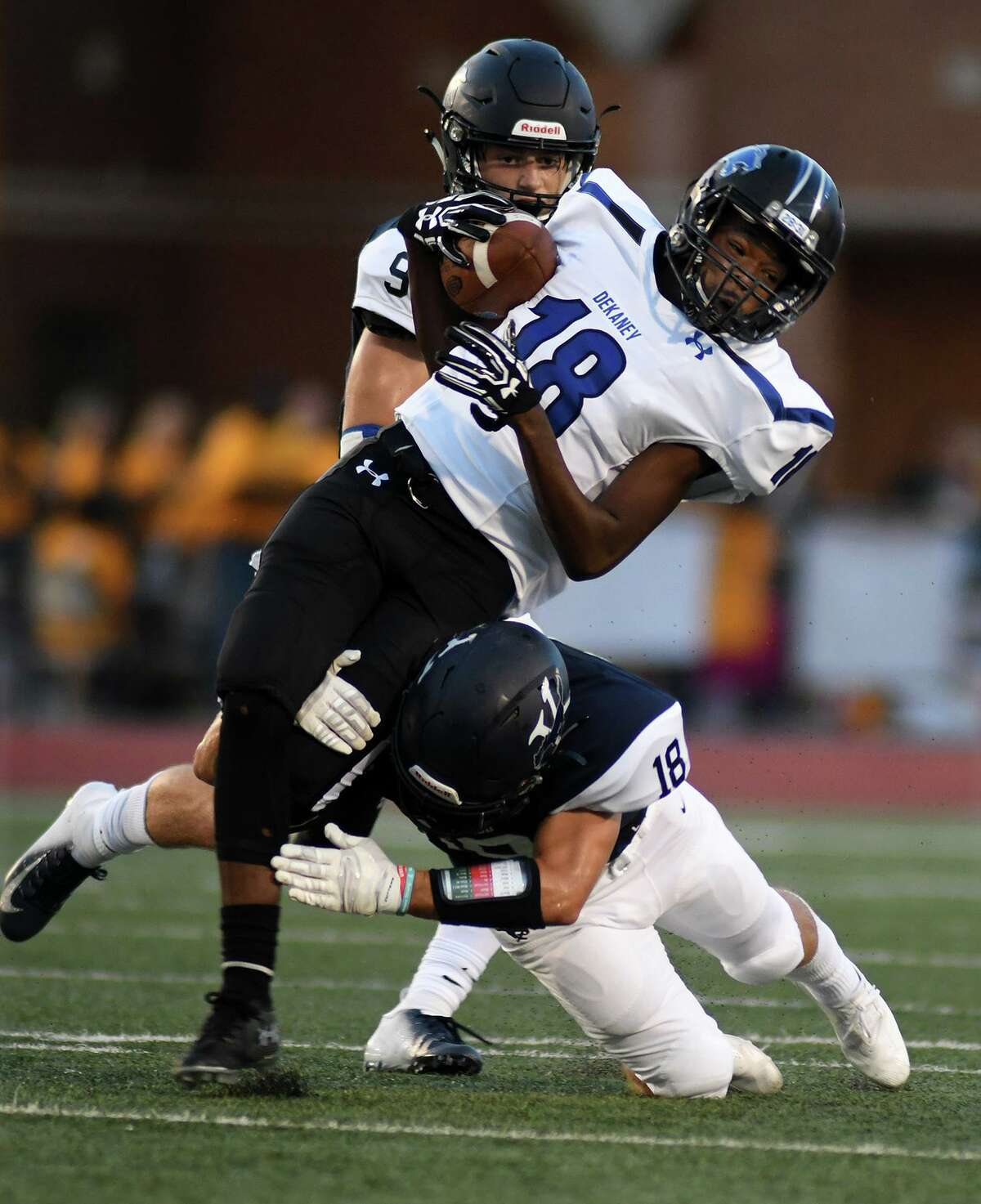 The Dekaney Wildcats (1-0) started the 2019 season with a 35-7 win over Heights, Aug. 30, at Delmar Stadium.
