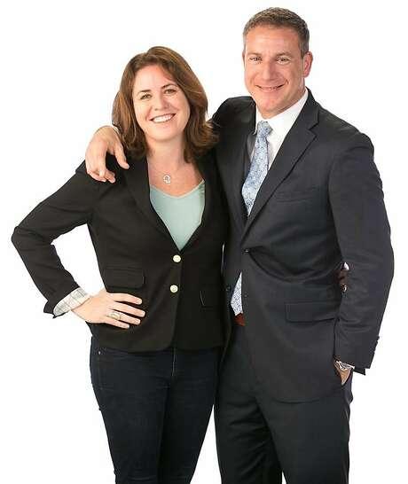 Linnette Edwards and Cameron Platt