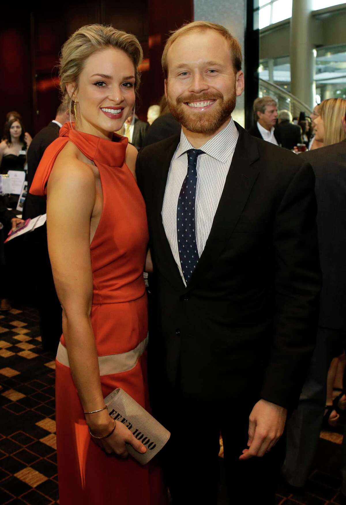 Sarahbeth Bush and Pierce Bush are shown during the Big Brothers Big Sisters gala held at the Royal Sonesta Hotel, 2222 West Loop S, Thursday, Sept. 6, 2018, in Houston.