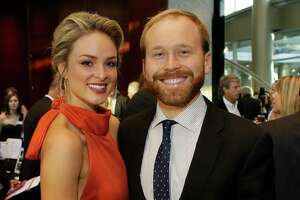 Sarabeth Bush and Pierce Bush are shown during the Big Brothers Big Sisters gala held at the Royal Sonesta Hotel, 2222 West Loop S,  Thursday, Sept. 6, 2018, in Houston.