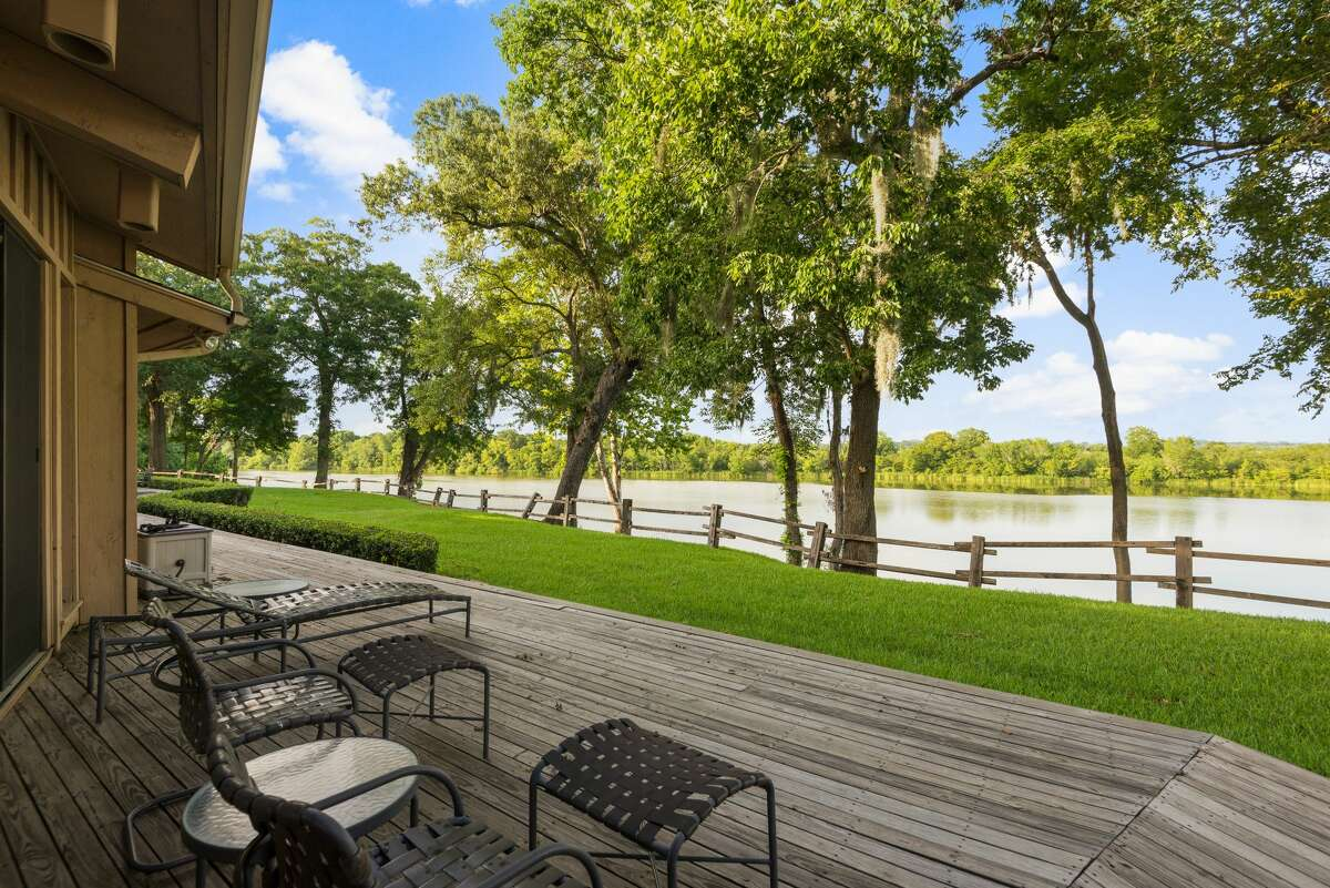 The KB Carter Ranch in Oakwood is on sale for $51 million. The property includes a private airstrip, oil and gas rights, a family retreat, and roughly 14 miles of Trinity River frontage.