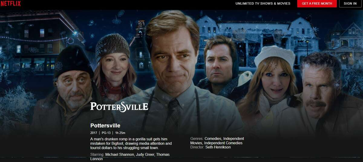 """Netflix is carrying the """"Pottersville"""" movie that was shot in Hamilton in Madison County in 2016 and was financed in part by SUNY Polytechnic Institute."""