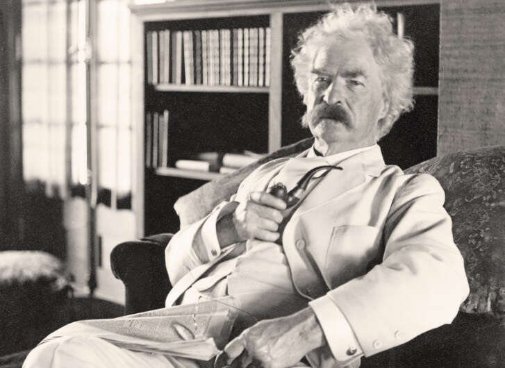 UNSPECIFIED - CIRCA 1800: Samuel Langhorne Clemens 1835 to 1910 known by pen name Mark Twain American humorist, satirist, writer, and lecturer From photograph taken in his old age (Photo by Universal History Archive/Getty Images)