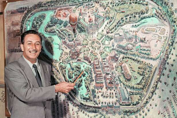 Walt Disney described his park on television in 1954.