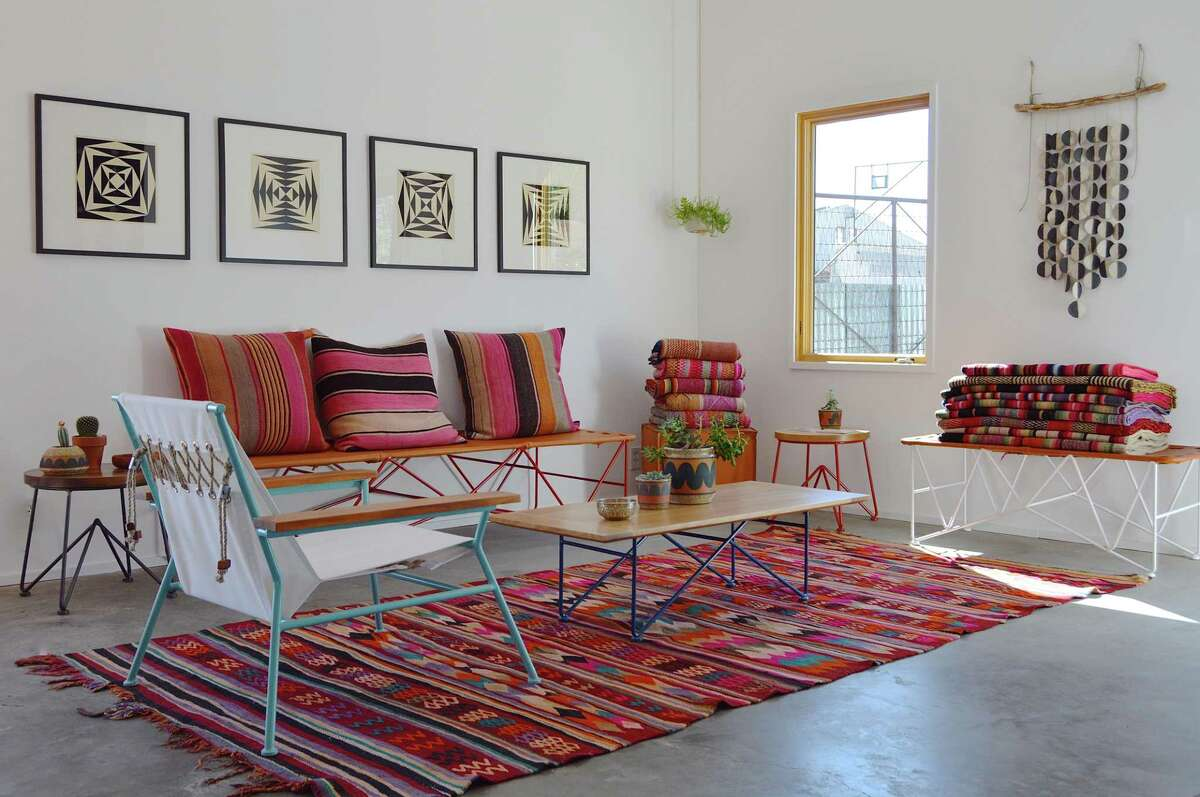 Furniture and textiles by Garza Marfa