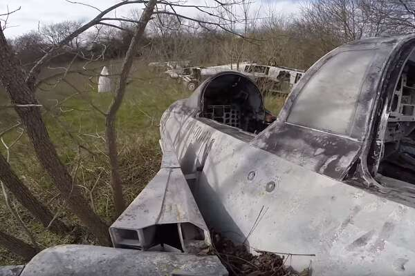 Mysterious warplane graveyard uncovered in Central Texas ... on red wood airplane, coke airplane, rockstar airplane, dr pepper airplane, red aircraft, oakley airplane, lamborghini airplane,