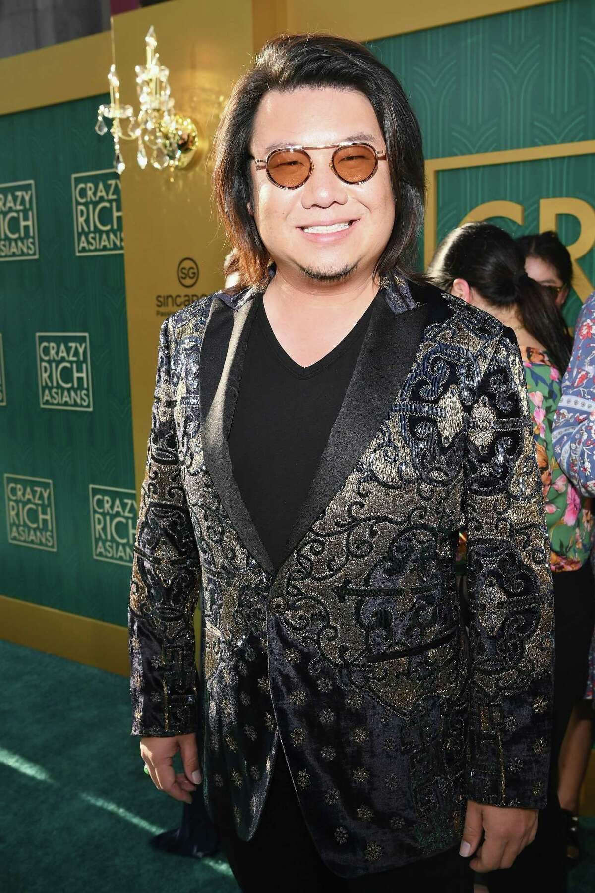 Author Kevin Kwan arrives at Warner Bros. Pictures'