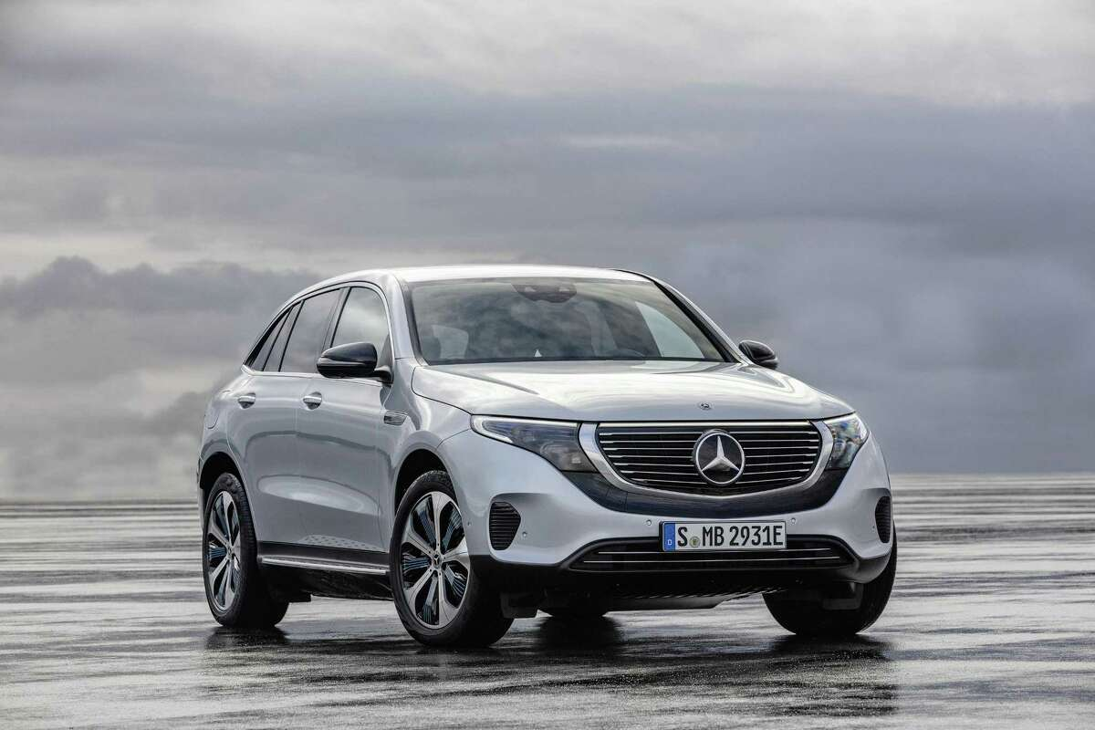 The Mercedes-Benz EQC is an all-electric compact crossover in all-wheel drive.(Daimler AG/Global Communications/TNS)
