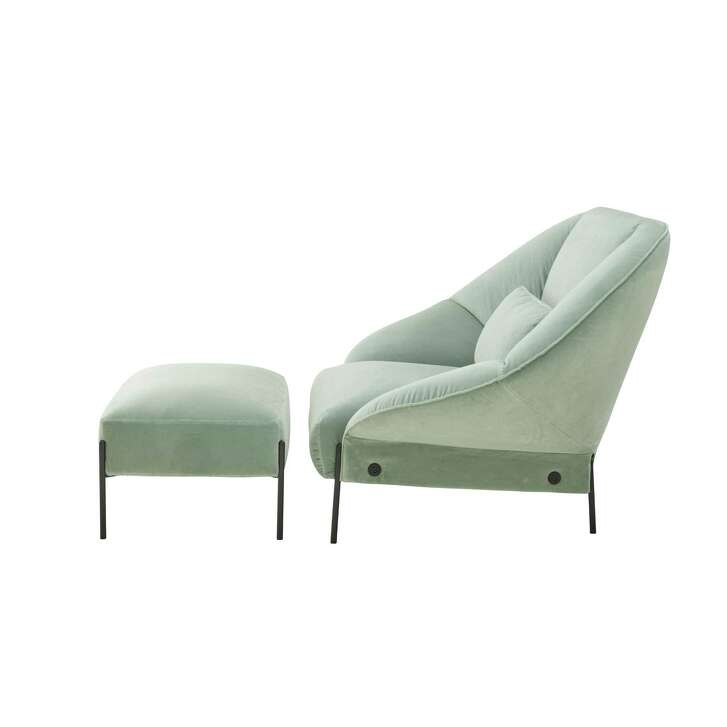 Ligne Roset's Paipai seating collection by design duo LucidiPevere includes a loveseat and sofa. $3,285 (loveseat) and $4,445 (sofa); Ligne Roset