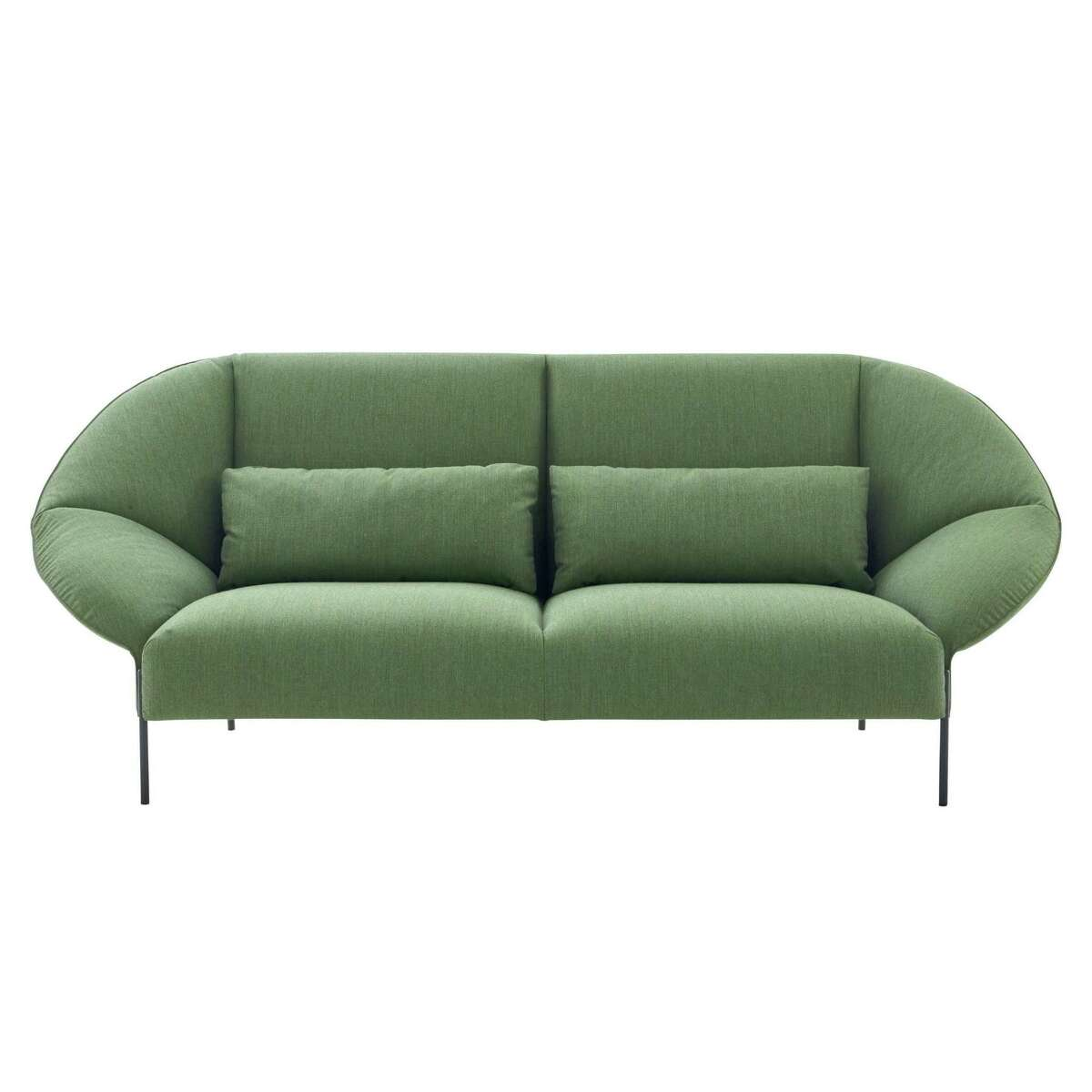 Ligne Roset's Paipai collection by LucidiPevere includes a loveseat, $3,285, and sofa, $4,445.