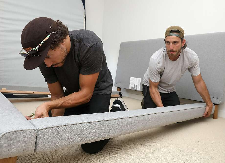 "Feather, unlike some ""sharing"" startups, buys the furniture it rents itself. Photo: Liz Hafalia / The Chronicle"