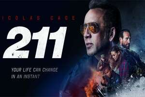 """Poster for the Nicolas Cage film """"211"""""""