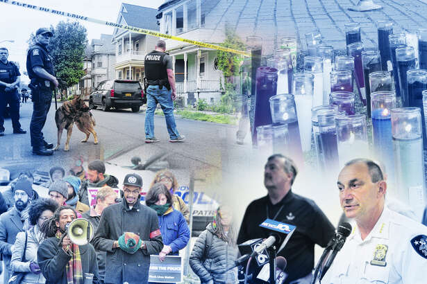 Police shootings in Capital Region lead to memorials, protests, investigations.